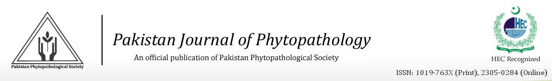 Pakistan Journal of Phytopathology